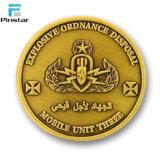 Placage or fait sur mesure 3D 2 d'euros Coin réplique