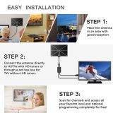 Hohe Gewinn-Antennen und Digital-Fernsehen