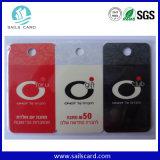 Rupture outre d'étiquette de PVC pour la promotion d'affaires