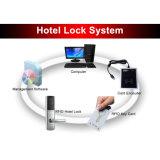 Bloqueo de puerta inteligente de la tarjeta del hotel RFID del bloqueo de puerta de la tarjeta del ANSI 5 Termic de L518/528-TCP
