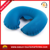 Aerolínea inflables almohada desechablesalmohada de cuello de descanso abordo mejor almohada