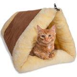 Kleine Katze-Schlafenbett-Hundekatze-Haustier-Bett-Katze-Haus-Bett-Katze-Hundehütte-Entwurfs-Katze-Bett-Katze-Bettwäsche