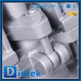 Válvula de puerta eléctrica de Didtek API6d Wcb para el petróleo y el gas