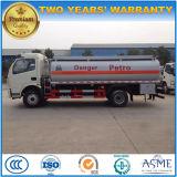 Dongfeng 6wheels 기름 Bowser 트럭 트럭 3000 리터 연료 분배기