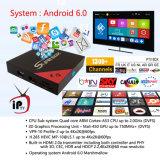 Caixa Android E8 S905X da Ajustar-Parte superior do receptor satélite