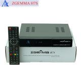 Zgemma H7s 4K 인공 위성 수신 장치를 가진 2*DVB-S2X + DVB-T2/C Multistream 조율사