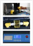 Solo equipo de prueba de fuerza dieléctrica del petróleo del transformador de la alta exactitud de la taza