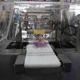 Automatische Groenten/Vruchten met de Machine van de Verpakking van de Omslag van de Stroom van het Pak van de Stroom van het Dienblad