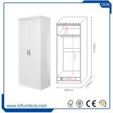 Des Fabrik-Großhandelspreis-2 Garderoben-Brust-Entwürfe Tür MDF-Almirah