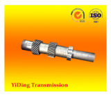 伝達風力の企業の減力剤で使用される二重螺旋形ギヤシャフト