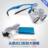 Luz principal dental quirúrgica de los vidrios LED del equipo dental