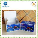 Rectángulos de almacenaje calientes del papel de la cartulina de la venta (JP-box040)