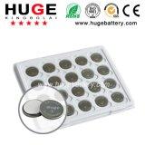 batterie CR2032 de cellules de bouton du lithium 3V