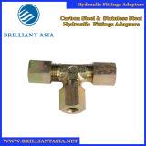 Ajustage de précision de pipe convenable modifié hydraulique réglable des syndicats d'acier inoxydable d'acier du carbone de garnitures de Jic
