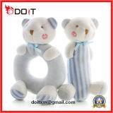 최고 노란 연약한 곰 유아를 위한 신생 아기 가르랑거리는 소리 장난감