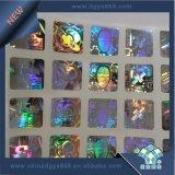 Logotipo personalizado efecto arcoiris etiqueta Holograma