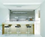 160x200mm brillante de color azul marino Hexagonal cónico de dos tonos de cerámica esmaltada azulejo de la pared interior