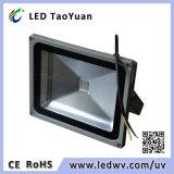 Indicatore luminoso di inondazione UV della lampada 405nm 30W LED del LED