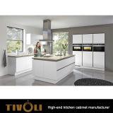 Fabrik-direkter neuer Entwurfs-modularer Lack-kundenspezifische Küche, die TV-0088 umgestaltet
