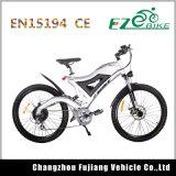 Vélo de montagne puissant de pleine suspension avec le frein à disque hydraulique