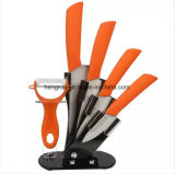 취사 도구 고품질 5PCS 색깔 세라믹 칼 세트