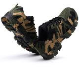 Ботинки безопасности конструкции камуфлирования зеленого цвета армии