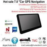 """熱い7.0 """" FMの車GPSの航法システム、Bt、ISDB-T TV、Tmc、AVで"""
