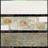 自然な様式によって艶をかけられる壁のタイル(300X450mm)