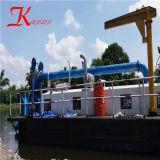 Keda portable pratique de la faucheuse drague d'aspiration de l'exploitation minière pour le sable