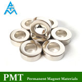 N35m D45 Ring NdFeB magnetisches Material mit Neodym