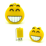 USB PVC логоса изготовленный на заказ дисковода памяти подарка 8GB Pendrive свободно