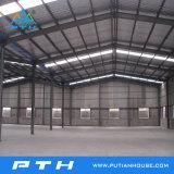 Préfabriqué Structure en acier de grande portée pour l'entrepôt