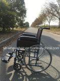 Roue de rai, fauteuil roulant fonctionnel, en acier, manuel