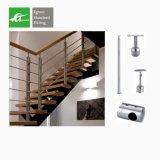 El diseño vertical Inox 304 Baranda Escalera de acero inoxidable 316