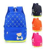 Pouco saco de ombro dobro elegante pequeno do saco de escola do Schoolbag do urso