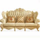 Sofá de madera fijado para los muebles caseros y los muebles del hotel (523)
