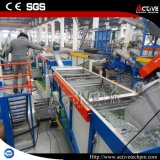 Flaschenreinigung-Zeile des Haustier-500kg und Haustier-Flasche, die Maschine aufbereitet