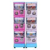 Cápsula útil de arcada de três camadas brinquedo máquina de venda automática