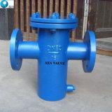 El chino con bridas de acero inoxidable tapa atornillada cesta filtrante fabricante, con bajo precio