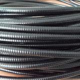 С покрытием из ПВХ гибкий металлический кабелепровод