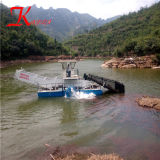 Full-Automatic Cosechadora de malezas acuáticas de agua/ Barco de corte de malezas en venta