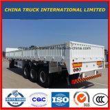 De witte het bestelwagen-Type van Kleur Oplegger van de Lading van de Vrachtwagen