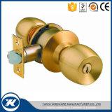 Edelstahl-Innenzylinderförmiger Tür-Drehknopf-Messingverschluß