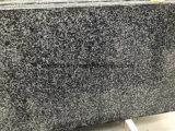 Novo Padang Poilshed Cinza Escuro/Flamed G654 para piso de mosaico de granito