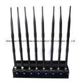 조정가능한 정지되는 8bands 셀룰라 전화, Wi Fi, VHF/uhf 라디오 방해기 또는 차단제