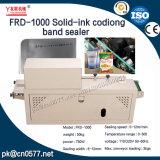 Frd-1000 Solid-Ink continuo de la fecha de la banda de codificación de sellador para detergente