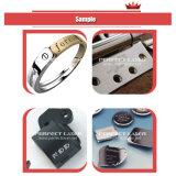 Silberner Löffel-Stich-Faser-Laser-Markierungs-Maschine für Metall