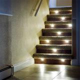 Indicatori luminosi del muro di sostegno IP67, indicatori luminosi esterni della scala, illuminazione del LED Hardscape