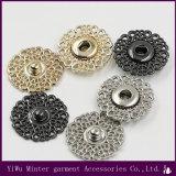 方法デザイン衣服のアクセサリのジーンズのために縫う円形の金属ボタン