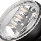 Zwarte Zilveren LEIDENE van de Auto van de Kleur 9-60V 12V 4inch 18W Drving Lichte Mistlamp